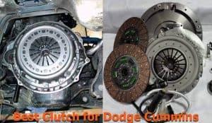 Clutch replacement on Dodge Cummins truck