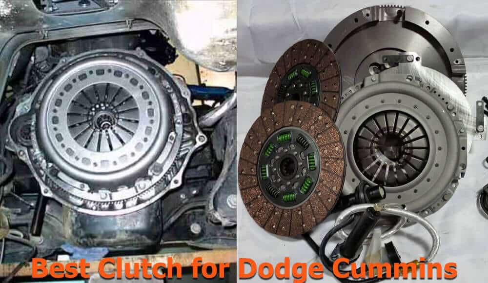 Clutch replacement on Dodge Cummins truck