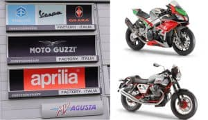 Top motorcycle manufacturers in Italy.