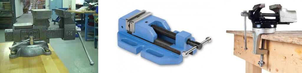 Types of Vise that used by mechanic and engineer.