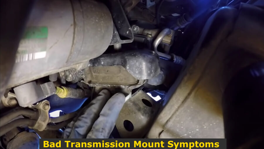 Replacing the transmission mounts.