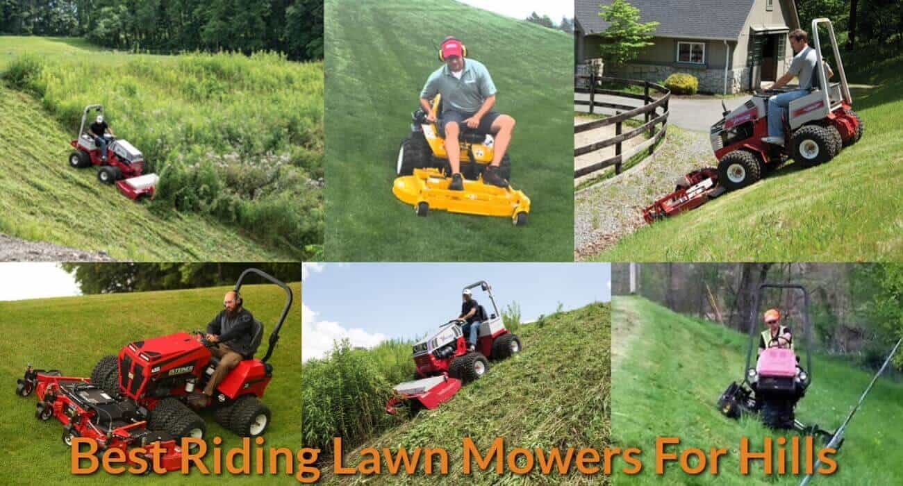 choosing best riding lawn mowers for hills - mechanicwiz