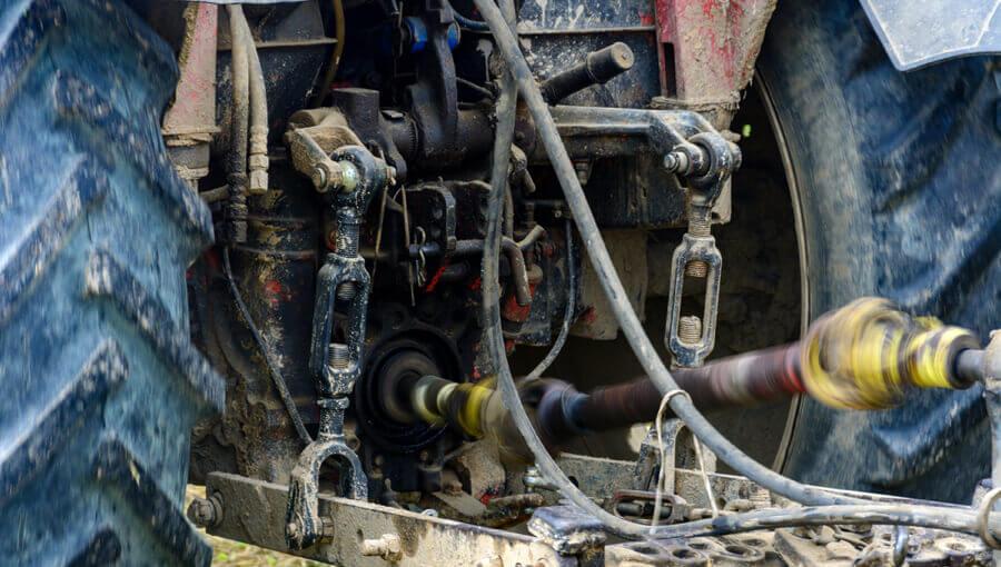 Tractor rear pto unit.