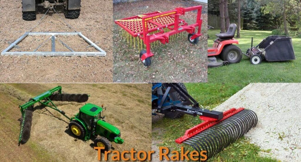 Different Types of Tractor Rakes - MechanicWiz Com
